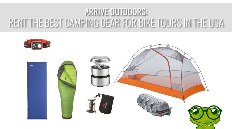 Arrive Outdoors: Rent The Best Camping Gear For Bike Tours In The USA