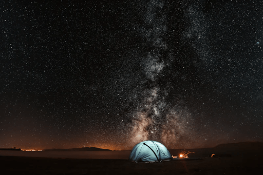 Tent Camping In The Great Outdoors